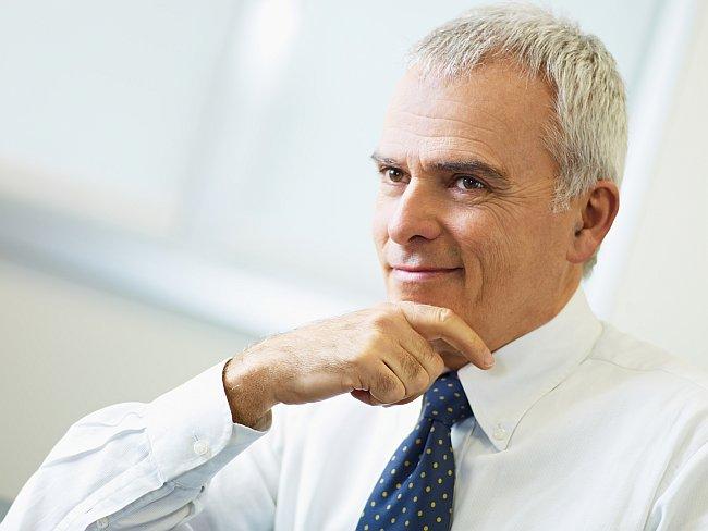 Businessfoto eines Geschäftsmanns