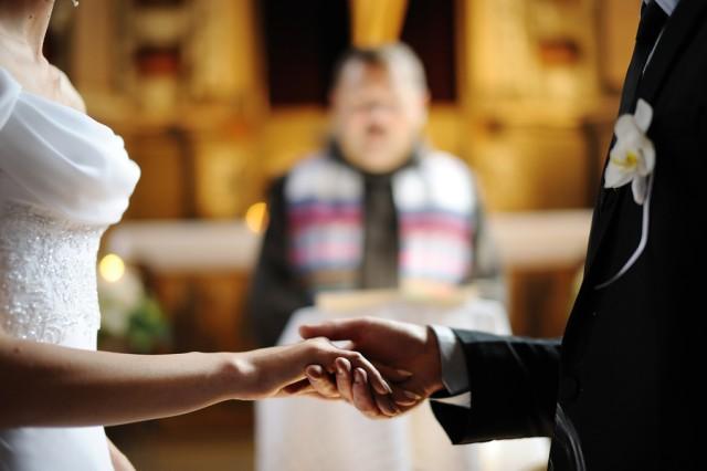 Reportage - Brautpaar Trauung