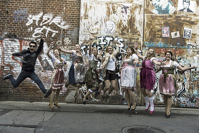 Junggesellinnenabschied Fotoshooting in Berlin