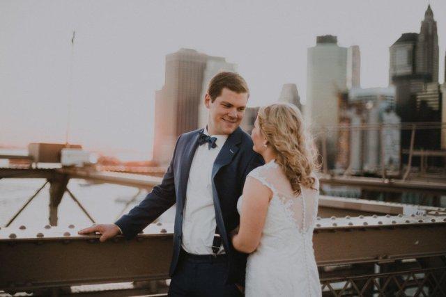 Hochzeitsfotos in New York, USA
