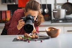 Produtkfotografin macht Foodfotos