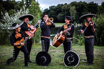 Hochzeit: mexikanische Musiker