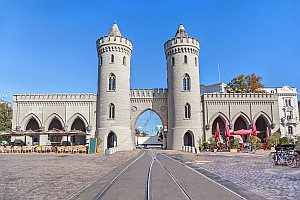 Potsdam Stadtmitte mit Tor
