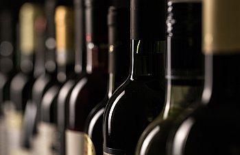 Werbefotos Weinflaschen