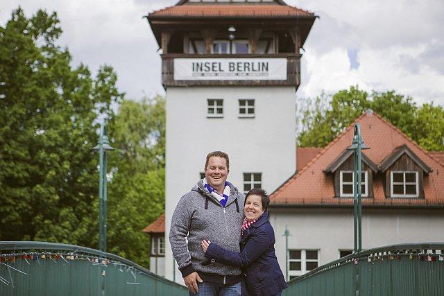Antje und Benny in Berlin