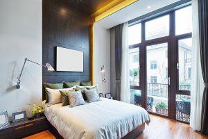 Hotelfotografie der Zimmer