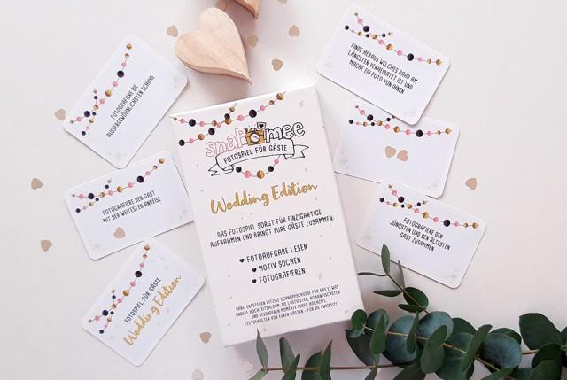 Fotospiel Hochzeit Kartenbox