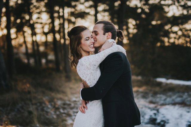 Brautpaarshooting mit viel Spaß