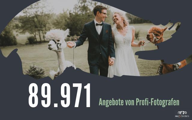 So viel kostet ein Hochzeitsfotograf in Deutschland