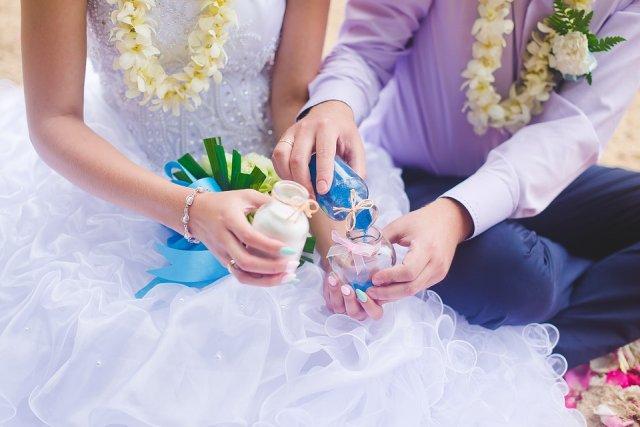 Hochzeitsfotografie in Thailand mit Brautpaar