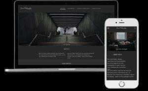 Fotografen Template Homepage
