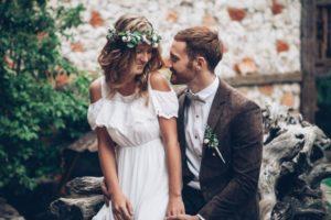 Brautpaar beim Elopement Shooting